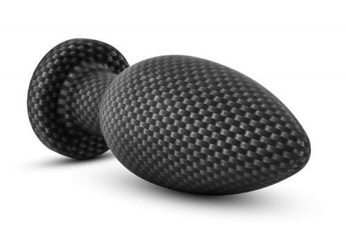 Spark - Silicone Anal Plug Carbon Fiber - Small
