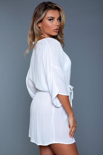 Thalia Beach Dress - White