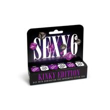 Sexy 6 Dice Kinky Edition
