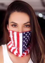 Mapale USA Lips Face/Neck Bandana