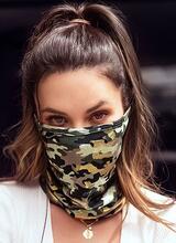Mapale Camouflage Lips Face/Neck Bandana