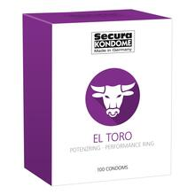 Secura Kondome El Toro Performance Ring x100 Condoms