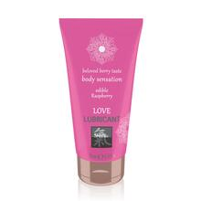 Shiatsu Love Lubricant Edible Raspberry 75ml