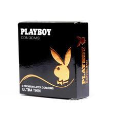 PlayBoy Ultra Thin Condoms 3 Pack