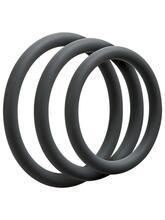 3 C-Ring Set - Thin - Slate