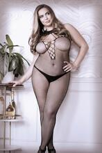 Adore You Catsuit With Halterneck - Curvy