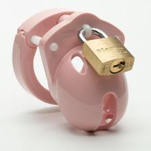 CB-X - Mini Me Chastity Cage - Pink