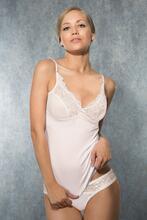 Ladies Top and Panties - Beige