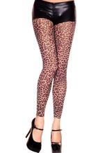 Leopard Print Opaque Leggings
