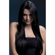 Long, Straight Wig - Black