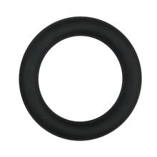 Silicone Cock Ring Black large