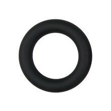 Silicone Cock Ring Black small