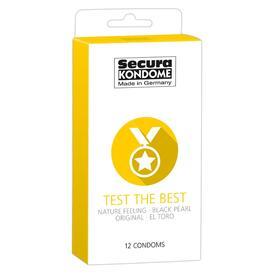 Secura Kondome Test The Best Mixed x12 Condoms