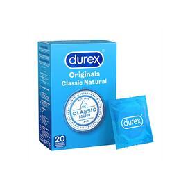 Durex Originals Classic Natural Condoms X20