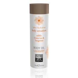 Shiatsu Luxury Body Oil Edible Green Tea And Tangerine 75ml