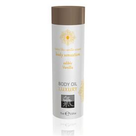 Shiatsu Luxury Body Oil Edible Vanilla 75ml