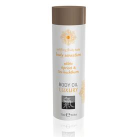 Shiatsu Luxury Body Oil Edible Apricot And Sea Buckthorn 75ml