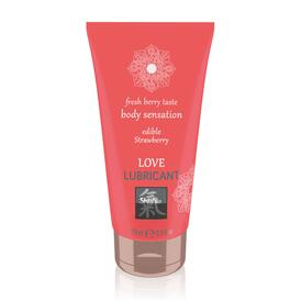 Shiatsu Love Lubricant Edible Strawberry 75ml
