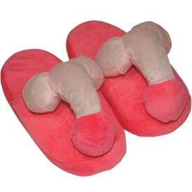 Pink Penis Slippers