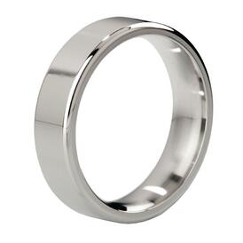 Duke Stainless Steel Polished Cock Ring