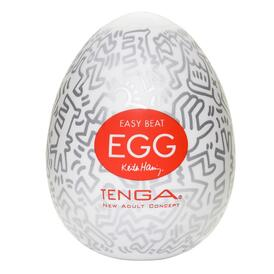 Keith Haring Party Egg Masturbator