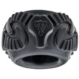 Tribal Son Ram Ring 2 Pack Black