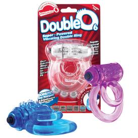 Double O 6 Vibrating Cockring