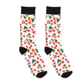 Happy Hearts Sexy Socks Size 4246
