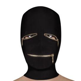 Ouch Extreme Zipper Mask With Eye And Mouth Zipper