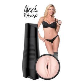 Pornstar Alexis Fawx Vibrating Rechargeable Pussy Masturbator
