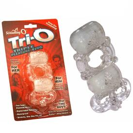TriO Vibrating Pleasure Cock Ring