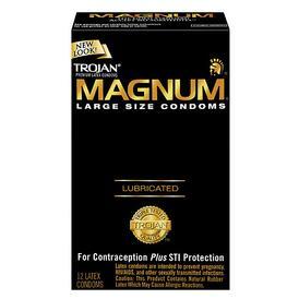 Trojan Magnum Large x 12 Condoms