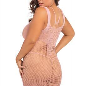 Absolutist Dress - Pink - Plus Size