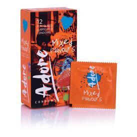 Adore Flavours Condoms - 12 Condoms