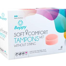 Beppy Soft + Comfort Tampons WET - 8 pcs