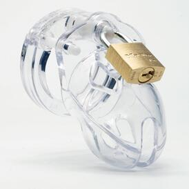 CB-X - Mr Stubb Chastity Cage - Clear