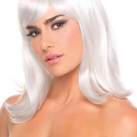 Doll Wig - White