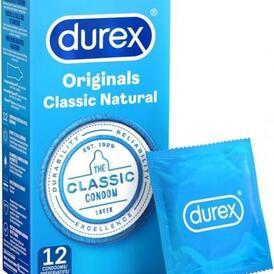 Durex Classic Natural 12st