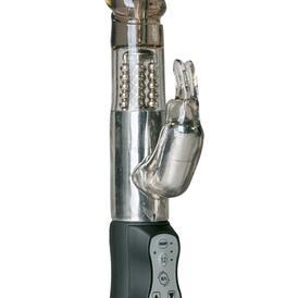 Easytoys Black Rabbit Vibrator