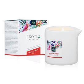 Exotiq Massage Candle Vanilla Amber - 200g