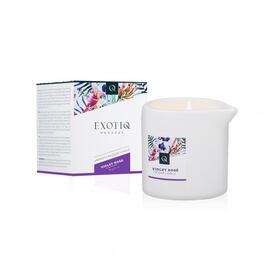 Exotiq Massage Candle Violet Rose - 60g