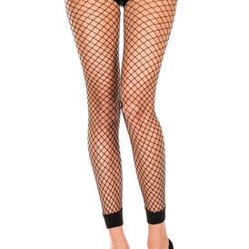 Fishnet Leggings - Black