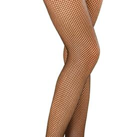 Fishnet thigh high