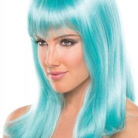 Hollywood Wig - Aqua