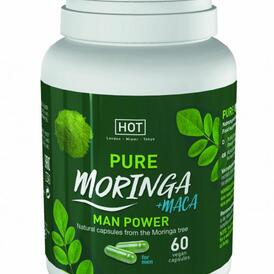 HOT BIO - Moringa Man Power Capsules - 60 Pcs.