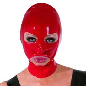 Latex Mask red