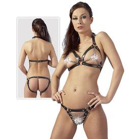 Leather Bikini S-L