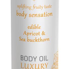 Luxury Body Oil Edible - Apricot & Sea Buckthorn
