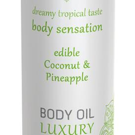 Luxury Body Oil Edible - Coconut & Pineapple