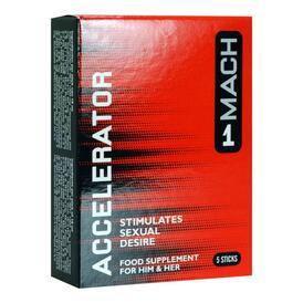 Mach 1 - Accelerator Aphrodisiac For Men - 5 sachets